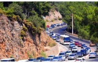 Muğla'da araç sayısı 517 bin 818'e ulaştı