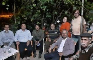CHP'li Alban, yangının ardından soluğu Çaybükü'nde...