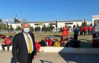 Milletvekili Demir deprem bölgesinde