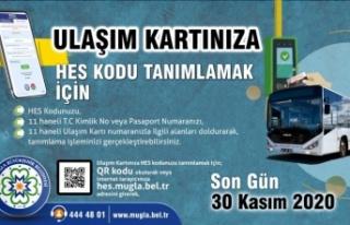 """Muğla'da toplu ulaşımda """"HES Kodu"""" zorunlu..."""