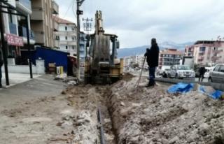 MUSKİ, Yatağan'da içme suyu yenileme çalışmalarını...
