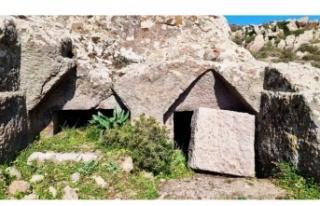 Termera Antik Kenti'ndeki kaya mezarlarını talan...
