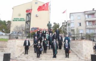 5 Nisan Avukatlar Günü Yatağan'da kutlandı