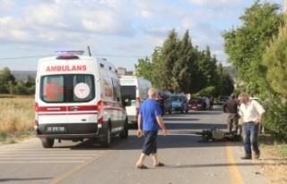 Bozüyük'te motosiklet kazası: 1 ölü