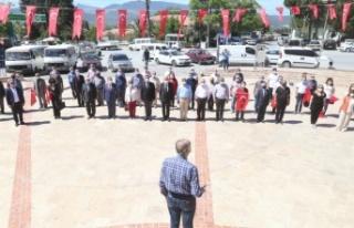 CHP, İYİ Parti ve ADD'den alternatif çelenk töreni