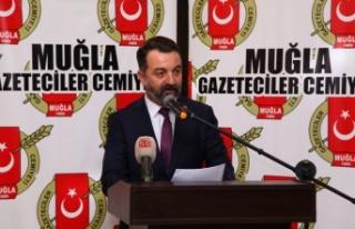 Muğla Gazeteciler Cemiyetinden Mollaveisoğlu'na...