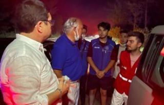 Demir, bölgedeki yangınlar hakkında bilgi verdi