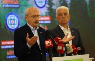 """Kılıçdaroğlu, """"Evi Yanan Vatandaşlarımızın..."""