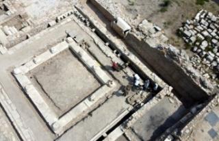 3 bin 500 yıllık antik kentte kazılar devam ediyor
