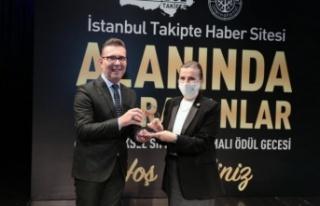 """""""ALANINDA İZ BIRAKAN YÖNETİCİ"""" ÖDÜLÜ SAHİBİNİ..."""