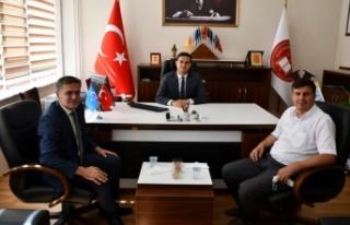 Başkan Toksöz'den Başsavcı Çetin'e ziyaret
