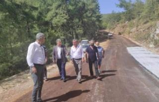 CHP Yatağan İlçe Başkanlığı Yol Yapım Çalışmalarını...