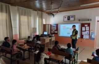 Yatağan'da Öğrencilere Trafik Güvenliği Eğitimi...
