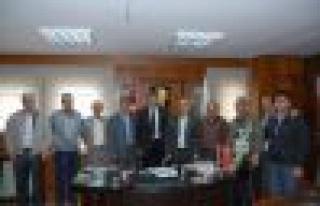 AK Parti'den CHP'li Başkana Hayırlı Olsun Ziyareti