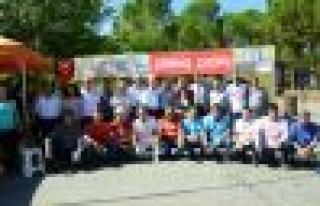 CHP'den direniş çadırına çıkarma