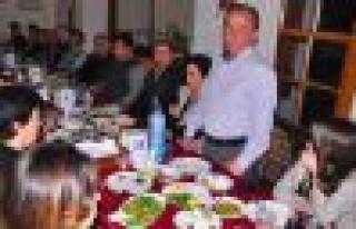 Cicili Meclis Üyeleriyle Yemekte Bir Araya Geldi