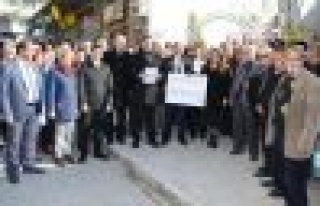 Cuma namazı çıkışı Kudüs protestosu