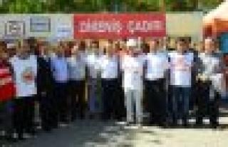 ESM ve Maden Mühendislerinden direnişe destek