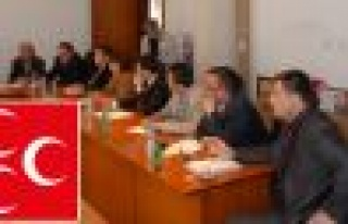 MHP'li Meclis Üyelerinde Ortak Basın Açıklaması