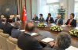 MÜSİAD Heyeti Cumhurbaşkanı Abdullah Gül'le...