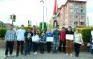 TGB ve TLB'den Maden Kazası Protestosu