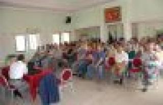 Yatağan'daki öğretmenlere doğalgaz semineri