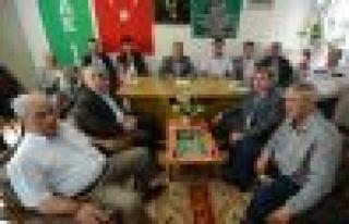 Yeni Yönetime İlk Ziyaret AK Parti'den
