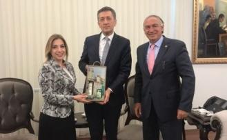 Demir ve Gökcan'dan Milli Eğitim Bakanına ziyaret