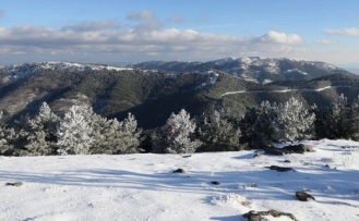 Muğla'ya mevsimin ilk karı yağdı