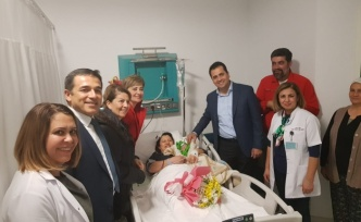 2019'un ilk bebeğine Ali Osman ismi verildi