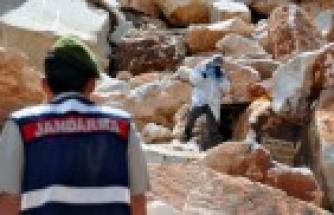 Yatağan'da Mermer ocağında iş kazası