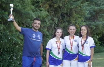 Bencikli kızlar Türkiye ikincisi oldu