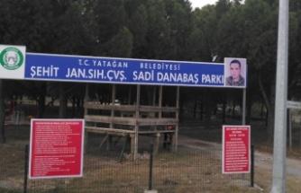 Yatağan Belediyesi, şehidin ismini parkta yaşattı