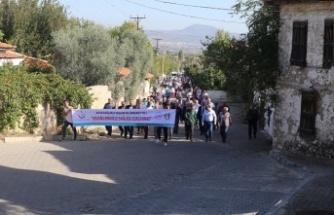 Yatağan'da sağlıklı yaşam için yürüyüş