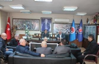 Tes-İş'in yeni başkanından Yatağan Şubesi'ne ziyaret