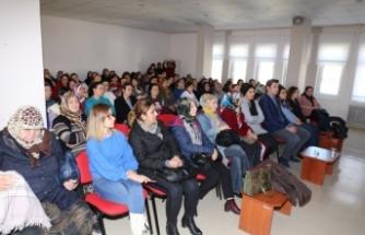 Yatağan Halk Sağlığı Müdürlüğü'nden rahim ağzı kanseri semineri