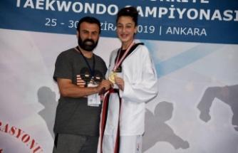 Kavaklıdereli genç sporcu, gözünü Dünya ve Avrupa şampiyonluğuna dikti