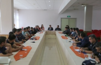 Adli kolluk değerlendirme ve koordinasyon toplantısı yapıldı