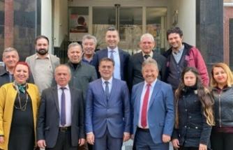 CHP'nin yeni yönetiminden ziyaretler