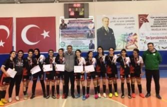 Futsal Genç Kız Grup Birinciliği Müsabakaları Yatağan'da yapıldı