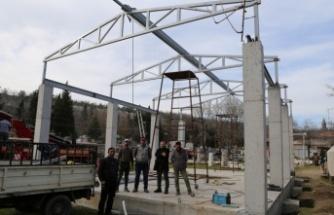 Stratonikeia Antik Kenti yeni taş hastanesine kavuşuyor