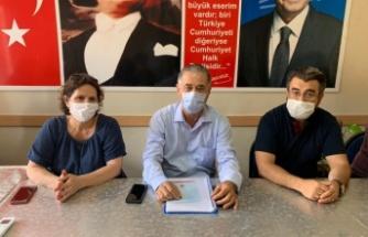 CHP'li Özcan, hükümeti topa tuttu ve çiftçilere seslendi