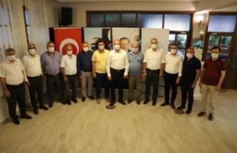 Cumhur İttifakı belediyeleri Seydikemer'de buluştu