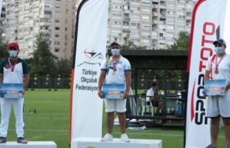 Yatağanlı okçu, Açık Hava Federasyon Kupası'nda şampiyon oldu