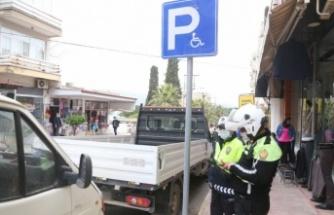 Engelli park yerlerine hatalım parklara cezai işlem uygulandı