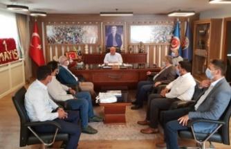 CHP'li vekillerden, 1 Mayıs ziyaretleri