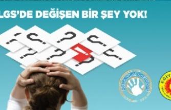 Eğitim-Sen: 'LGS'de özel ders alanlara ayrıcalık gösterildi'