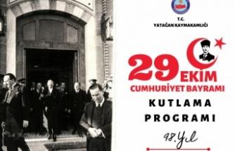 Cumhuriyetin 98.YaşıYatağan'da Coşku İle kutlanılacak