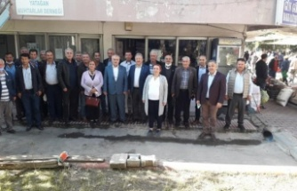 Yatağan'da CHP Ve Deva Partisi'nden Muhtarlara Ziyaret