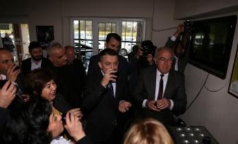 Tarım ve Orman Bakanı, Yatağan'da zeytinyağı tattı